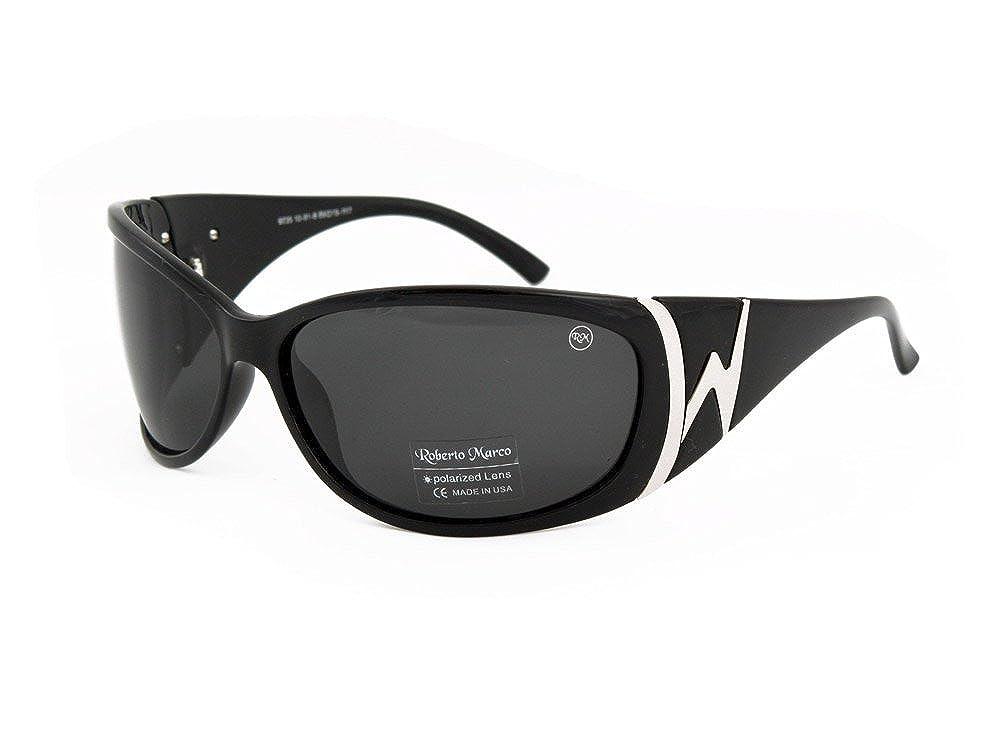 4b702985d90 Roberto Marco Polarized Sunglasses for Women Drivers Grey Lenses - Anti  Glare  Amazon.co.uk  Clothing