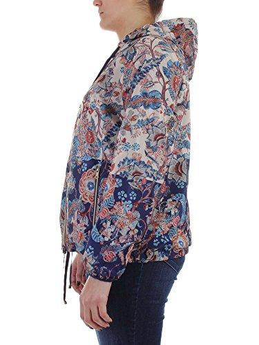 Mirò Mujer Abrigo Blu Elena 41 para Blu dfpCyqCx0w