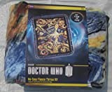 No Sew Fleece Throw Kit - BBC Doctor Who Exploding Tardis - Finished Size Approx 43 inches x 55 inches