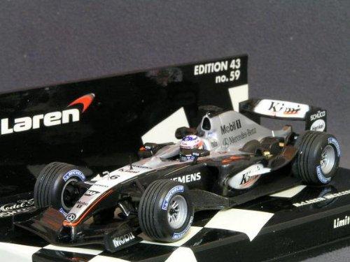 1/43 McLaren Mercedes MP4-19B Mobil #6(ブラック×シルバー) 530044316