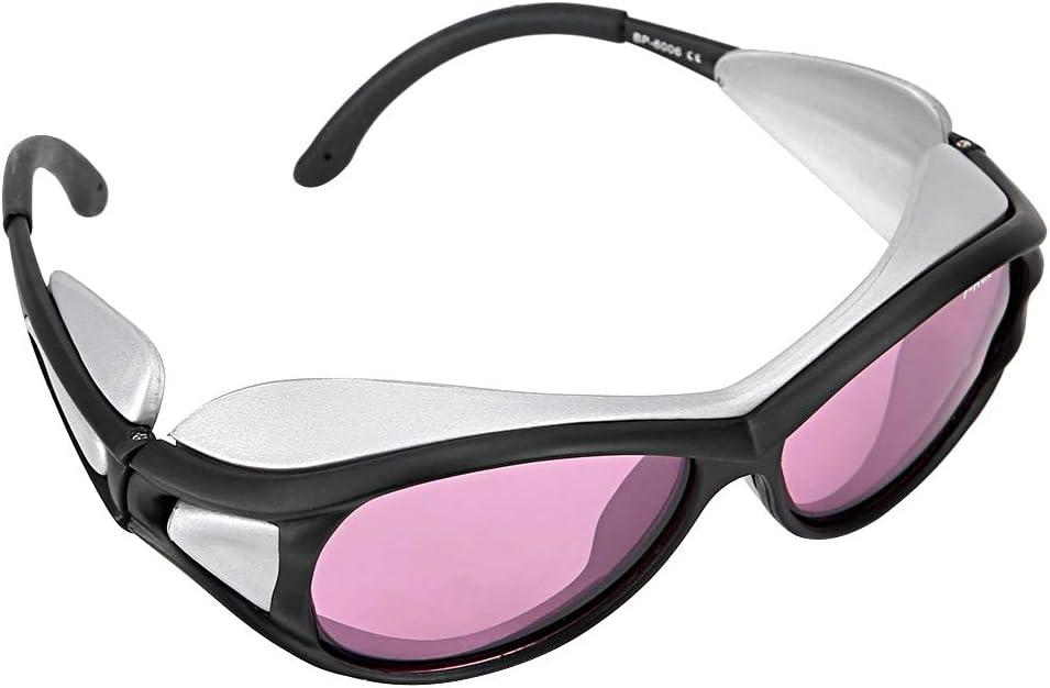 790-830nm Lunettes de Protection oculaires de s/écurit/é avec mat/ériau Kafuty Lunettes de s/écurit/é Lunettes de Protection Lunettes de Protection oculaire au Laser Infrarouge 808nm