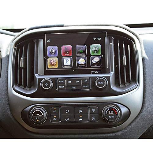 BUENNUS 8 Inch Screen Protector for 2015 2016 2017 2018 2019 Chevrolet Silverado 1500 LD 2500HD 3500HD Colorado Z71 LT ZR2,Touchscreen Tempered Glass Protective Film for Chevy Silverado Colorado (2018 Chevy Touch Screen)