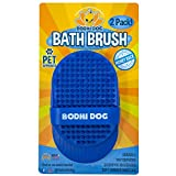 Bodhi Dog New Grooming Pet Shampoo Brush   Soothing Massage Rubber Bristles Curry Comb for Dogs & Cats Washing   Professional Quality