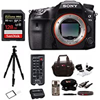 Sony a99II 42.4MP Digital SLR Camera with 3 LCD, Black (ILCA99M2) Deluxe Bundle