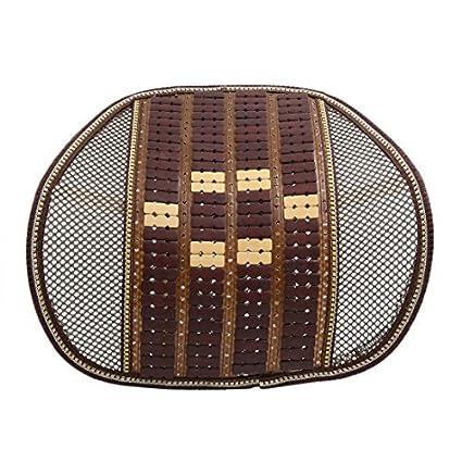 Amazon.com : eDealMax marrón Beige Cintura Lumbar del masaje ...