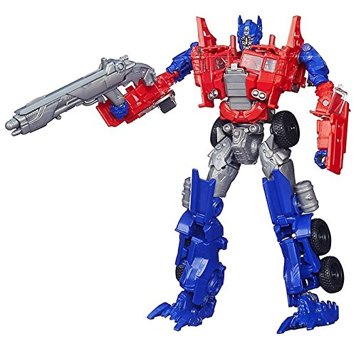 Transformers Age of Extinction Voyager Class Evasion Mode Optimus Prime Figure image