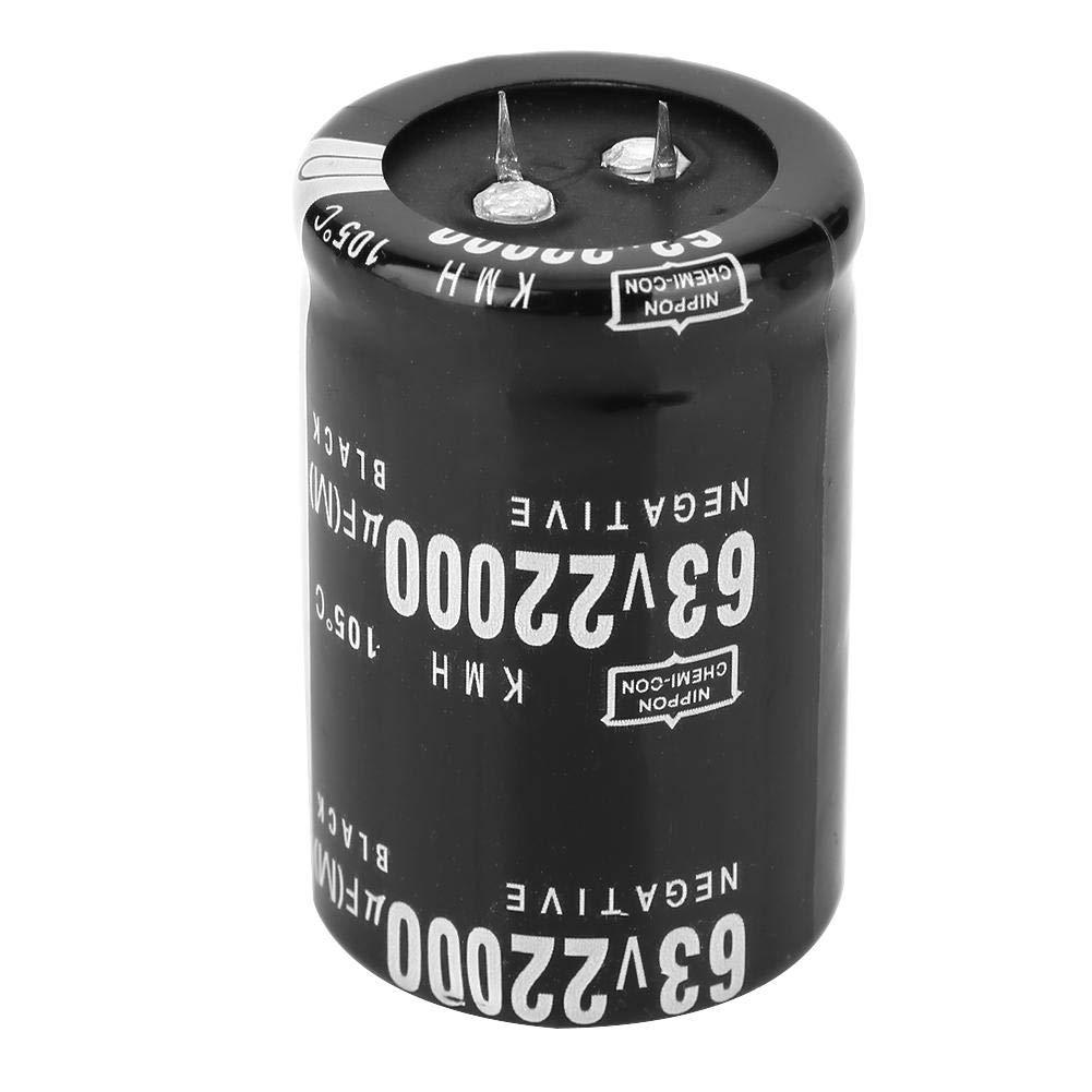Condensatore 63V 22000/μF condensatore elettrolitico in alluminio 105 ℃ Standard condensatore elettrico Terminale 35x50mm Condensatore SN