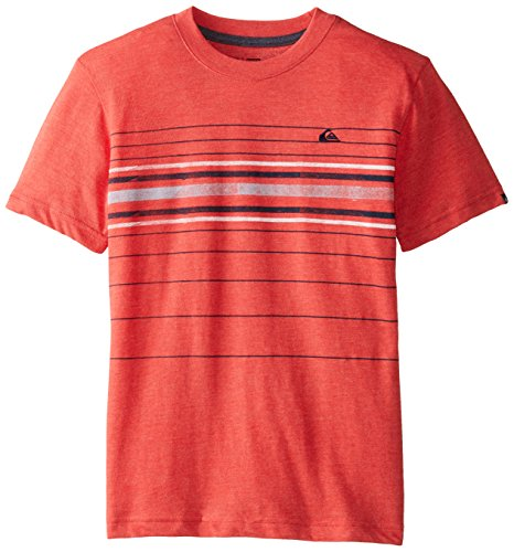 Quiksilver Big Boys' Saturday Tee, Quick Red Heather, Large