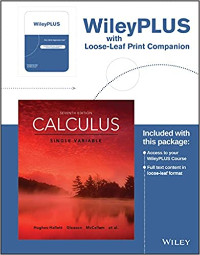 Calculus single variable 7e wileyplus registration card loose calculus single variable 7e wileyplus registration card loose leaf print companion 7th edition fandeluxe Image collections