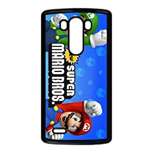 LG G3 Black Super Mario Bros phone cases&Holiday Gift