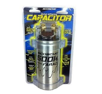 Scosche 500k Micro Farad Capacitor by Scosche: Amazon com