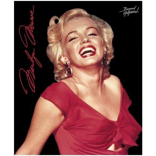 Marilyn Monroe Red Dress Fleece Throw: Warm Yourself or Hang It On The Wall