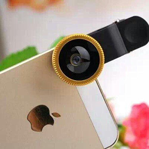 Universal Mobile Phone lens 3 in 1 Phone Lens (GOlden) - 4
