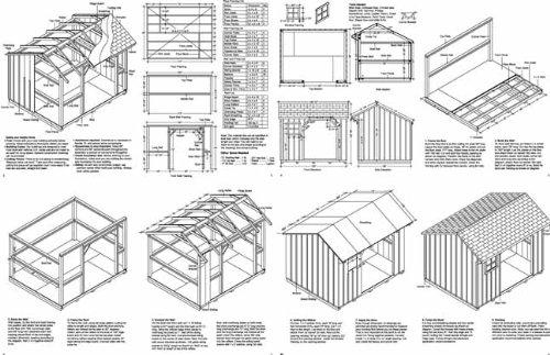 Amazon.com: 8 x 10 Leña Cobertizo de almacenamiento ...