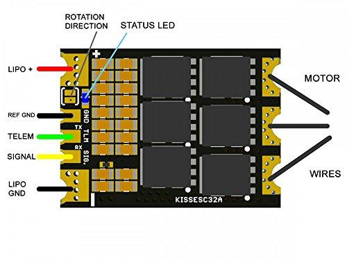 Flyduino KISS 32A 32bit ESC (2-6S)