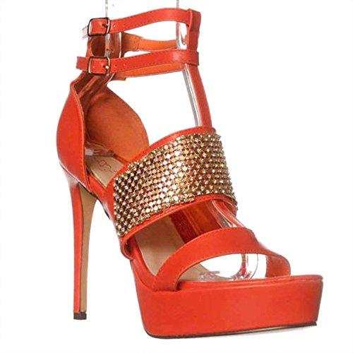 NOTFOUND - Sandalias de vestir para mujer naranja