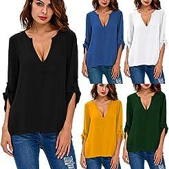 Gemira Wear to Work Blouses for Women 3/...