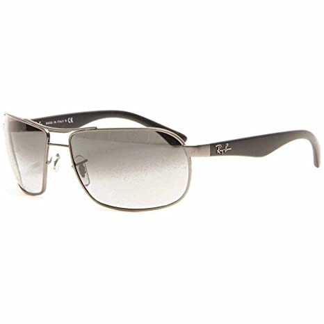 733f0d1e79 Ray-Ban Men s Gradient Highstreet RB3492-029 71-62 Grey Rectangle  Sunglasses  Ray-Ban  Amazon.ca  Luggage   Bags