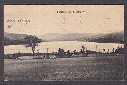 Crystal Lake Barton VT postcard 1945