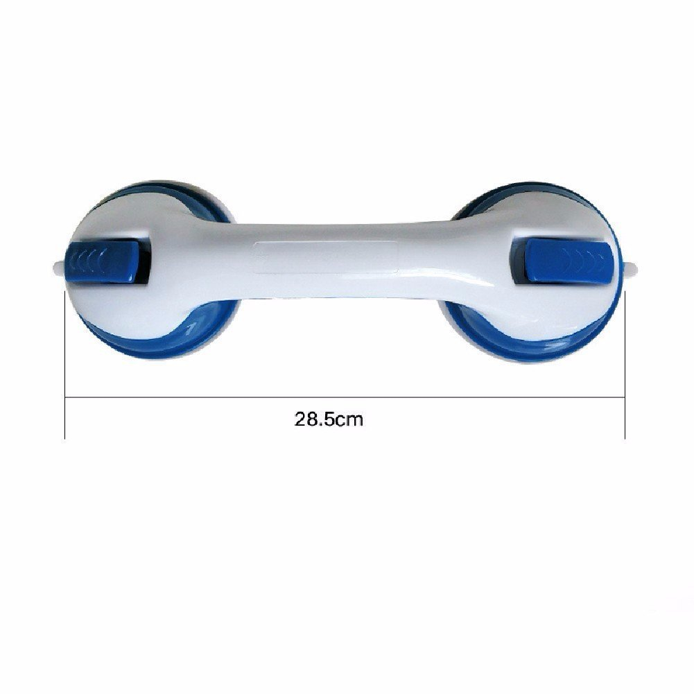 YAOHAOHAO Strong handrail sucker door handle glass door pull the hand bath rooms in the breast-feeding for free stamping bath rooms armrest,