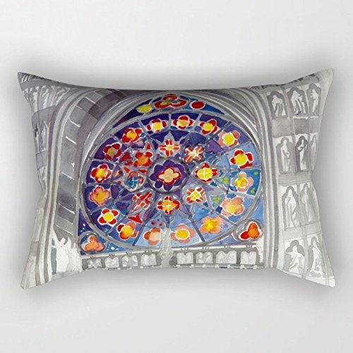 Price comparison product image 20 X 26 Inches / 50 By 65 Cm Watercolor Throw Pillow Covers, two Sides Is Fit For Car Seat, wedding, dining Room, wedding, play Room