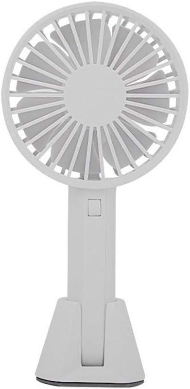 Air Cooler Small Fan Mini USB Portable Handheld Desktop Fan Mute Dormitory Office 3 Gear Wind Outdoor Personal Fan Color : Grey