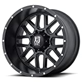 XD Series by KMC Wheels XD820 Grenade Satin Black Wheel (18x9''/8x170mm, -12mm offset)