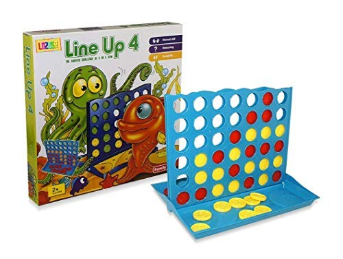 Master Line Up 4 in a Row Educational Board Game Children Fun Popular Toy Kids Great Gift Toddlers Boys Girls Ages 3+ [並行輸入品] B07S8YNQM2