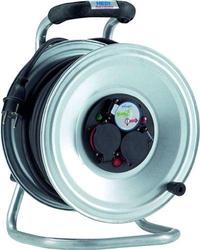 HEDI K2S50GTF Kabeltrommel 250 V, Silber, schwarz B00MY0IZ0Q | Feinen Qualität
