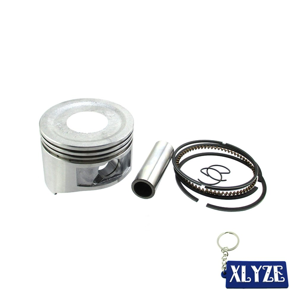 XLYZE 68mm Standard Sized Piston Ring Set For Honda 5.5HP GX160 6.5HP GX200 Go Kart Mini Bike