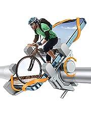 DesertWest Telefoonhouder voor fiets, extreem stabiel en valt nooit af, luchtvaart-aluminiumlegering, voor buiten, smartphonehouder, fiets, compatibel met iPhone 13/12, Samsung enz