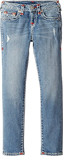 True Religion Kids Girl's Casey Super T Skinny in Perry Wash (Big Kids) Perry Wash Jeans