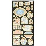 Graphic 45 Precious Memories Chipboard Die-Cuts 6-Inchx12-Inch Sheet-Decorative