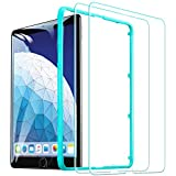 ESR Screen Protector for iPad Air 3 2019 iPad Pro 10.5 - [Free Installation Frame][Scratch-Resistant]9H Hardness HD Clear Premium Tempered Glass Screen Protector for iPad Air 3 2019 iPad Pro 10.5 - 2 Pack