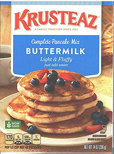 Krusteaz Light and Fluffy Buttermilk Pancake Mix