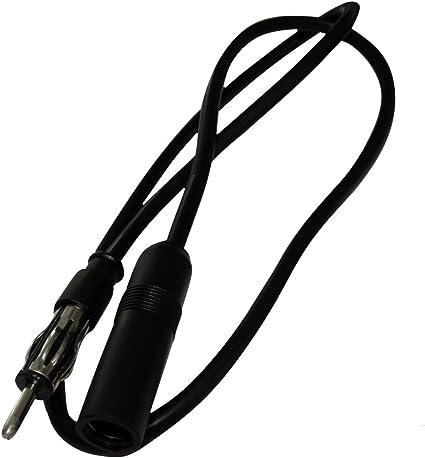 AERZETIX - Extensión DIN Cable alargador para Antena de autoradio - 75cm - C19859