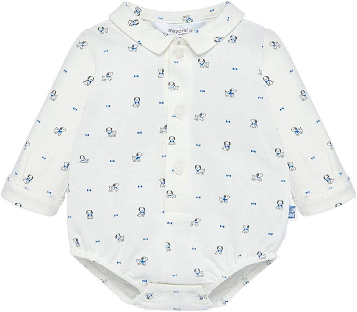 Mayoral Camisa Body Estampada de Niño Newborn perro 6-9 Meses ...