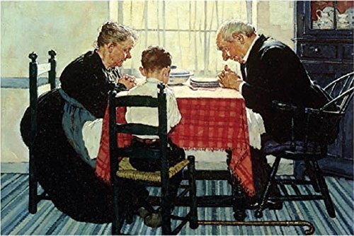 (Tomax Saying Grace 1000 Piece Norman Rockwell Jigsaw Puzzle)