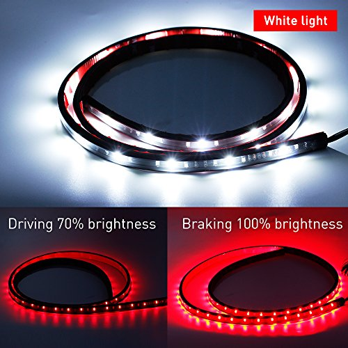 Tailgate-LED-Strip-Light-Bar-MIHAZ-Waterproof-60-Red-White-Brake-Signal-Lighting-for-Car-Trunk-Cargo-Ford-GMC-Toyota-Nissan-Honda-Truck-SUV-Dodge-Ram-Chevy-chevrolet-Avalanche-Silverado