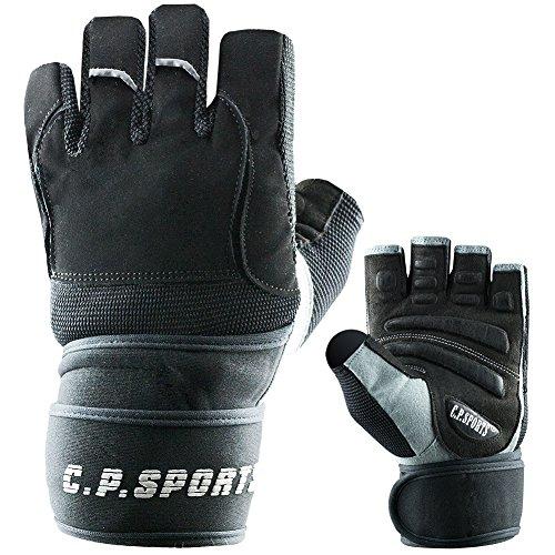 Gym-Handschuh F14 Gr.L - Fitnesshandschuhe Handgelenk Bandage, Top Krafttraining & Bodybuilding Glove CP Sports