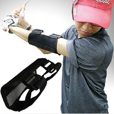 Andux Golf Swing Training Straight Practice Golf Elbow Brace Corrector Support Arc Zj-01