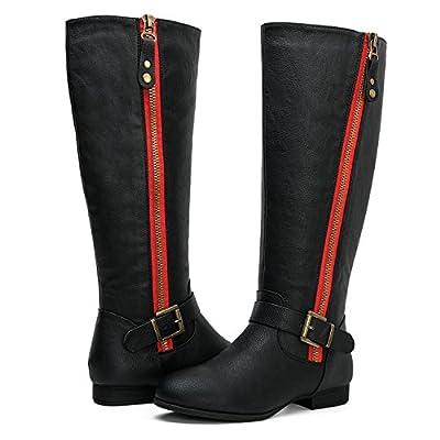 GLOBALWIN Women's Large Calf Fashion Boots