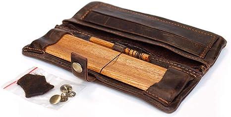 Bulldog Cuero Pitilleras Kavatza - Funda Bolso para Tabaco de Liar Cuero Estuche para Tabaco de Liar (Small/mini): Amazon.es: Equipaje