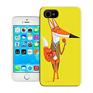 Unique Phone Case Fox and Fried Chicken Hard Cover for 4.7 inches iPhone 6 cases-buythecase