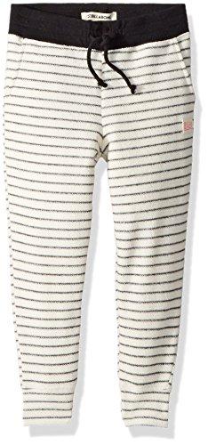 Billabong Big Girls' Lounge Party Fleece Pant, Cream, M (Girls Capris Billabong)