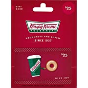Amazon Lightning Deal 100% claimed: Krispy Kreme Gift Card $25