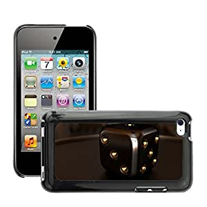 Hot Style Cell Phone PC Hard Case Cover // M00044930 closeup render games cube dice 3d // Apple ipod Touch 4 4G 4th