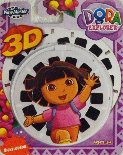 ViewMaster 3D Reels - Dora the Explorer 3-pack set by View Master
