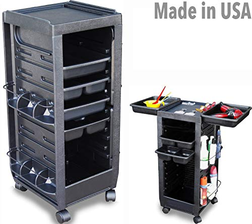 C113 Prime Salon Spa Roll-About Trolley Cart Non Lockable Made inUSA by Dina Meri