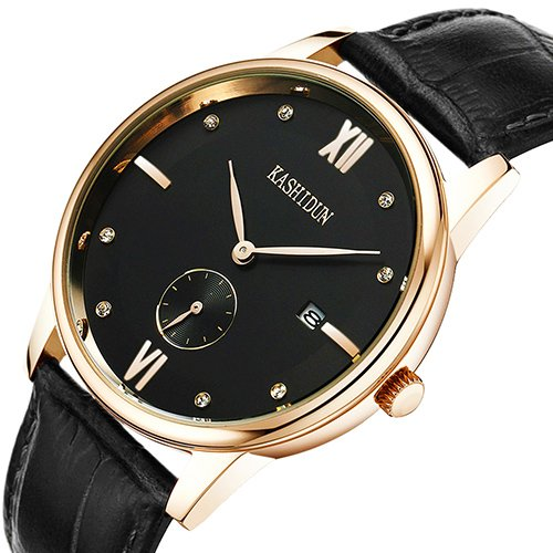 KASHIDUN Men's Wrist Watches Top Brand Luxury Casual Quartz Analog Army Watches Calendar Date.790